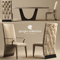 3d chair giorgio lifetime model