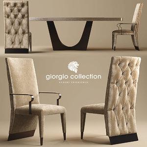 3d chair giorgio lifetime model
