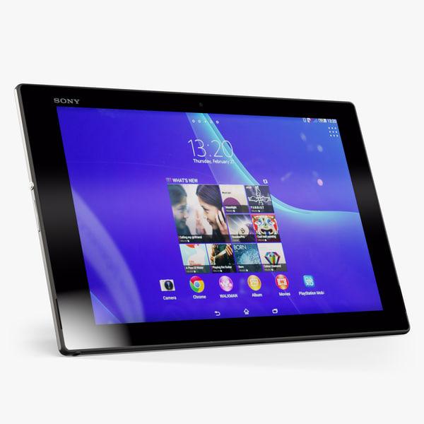 3dsmax sony xperia z2 tablet