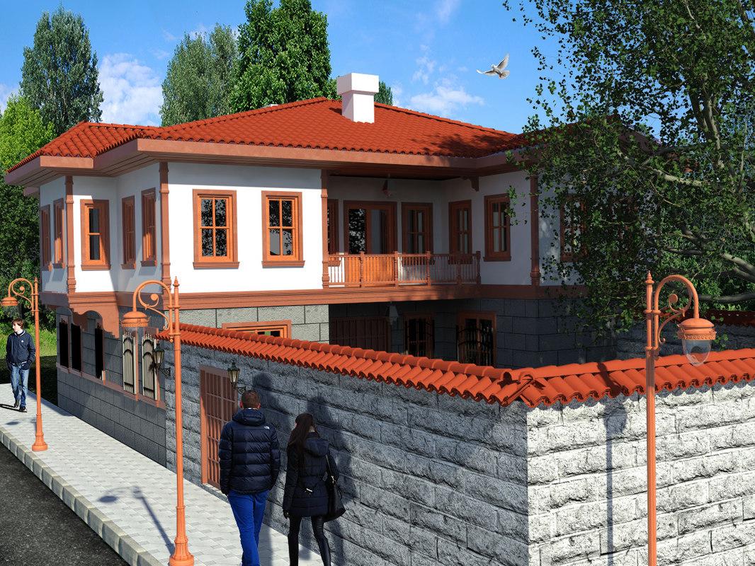 ankara-houses 3d 3ds
