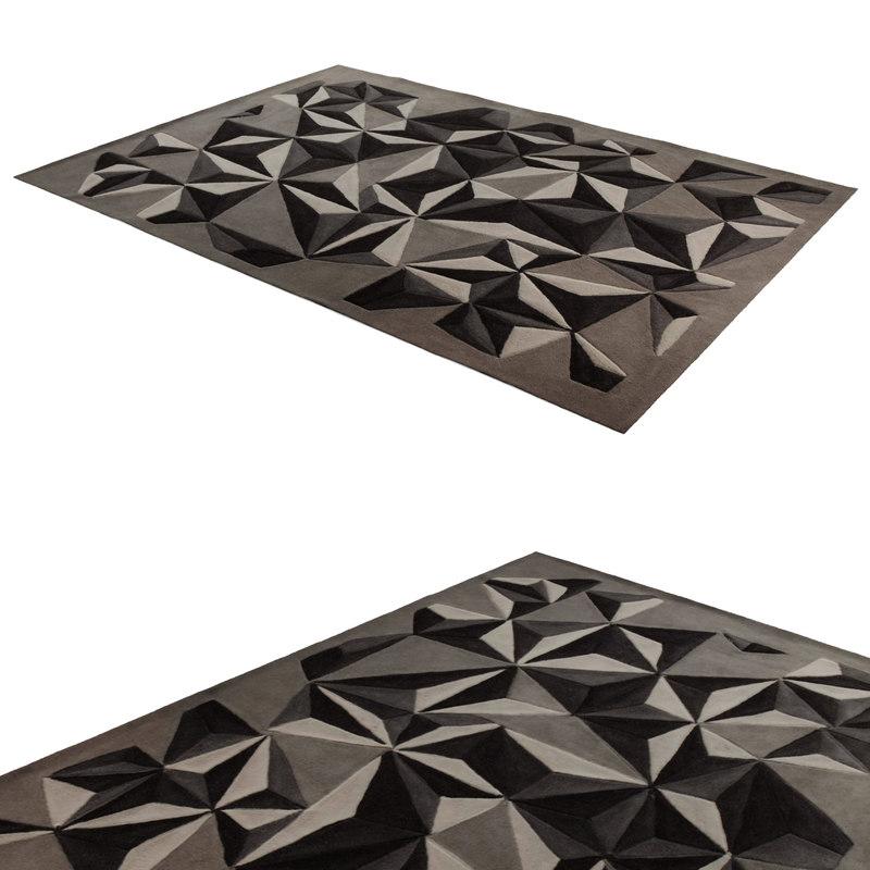 3d carney carpet modeled model