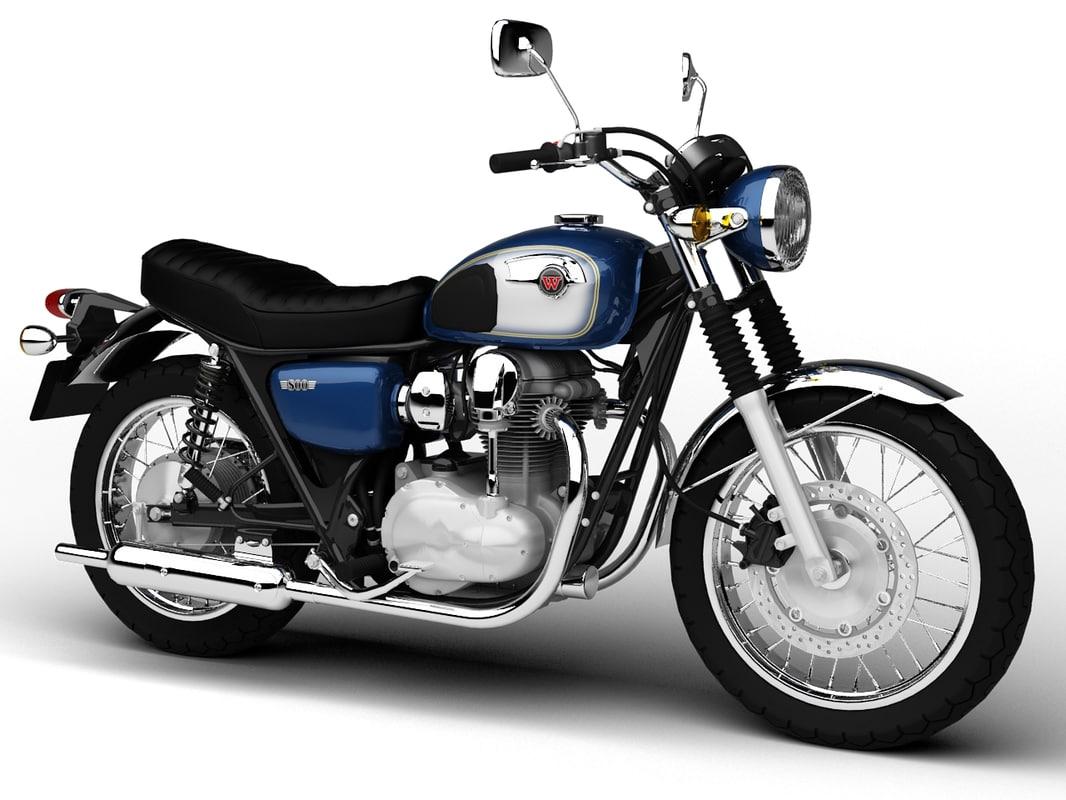 max kawasaki w800 2014 motorcycle