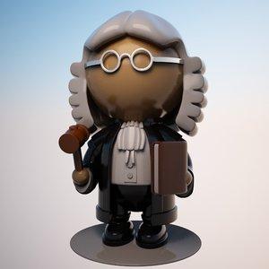 max cartoon judge character