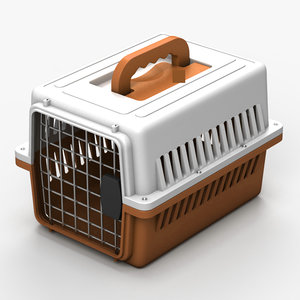 3ds max pet carrier cage