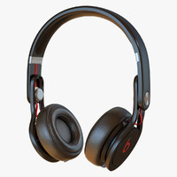 3d beats mixr headphone model