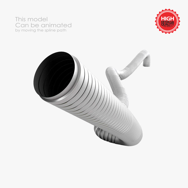 pipe conduit 3d 3ds