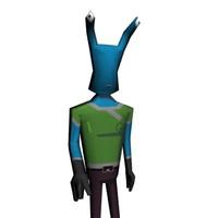 alien cartoon 3d model