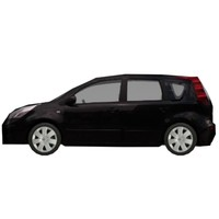 nissan note 3d max