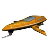 craft transport 3d model