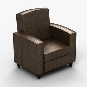 3ds chair armchair
