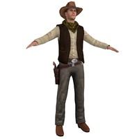 cowboy hat 3d max