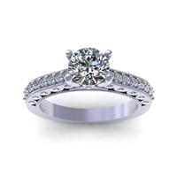 diamond ring design 3d model