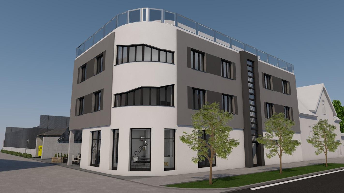 3d multifunctional building