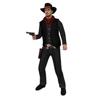 Cowboy ST 2 Rigged