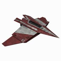 3d - starship 3