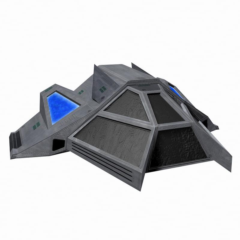 - starship 5 3d max