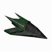 3d model - starship 4