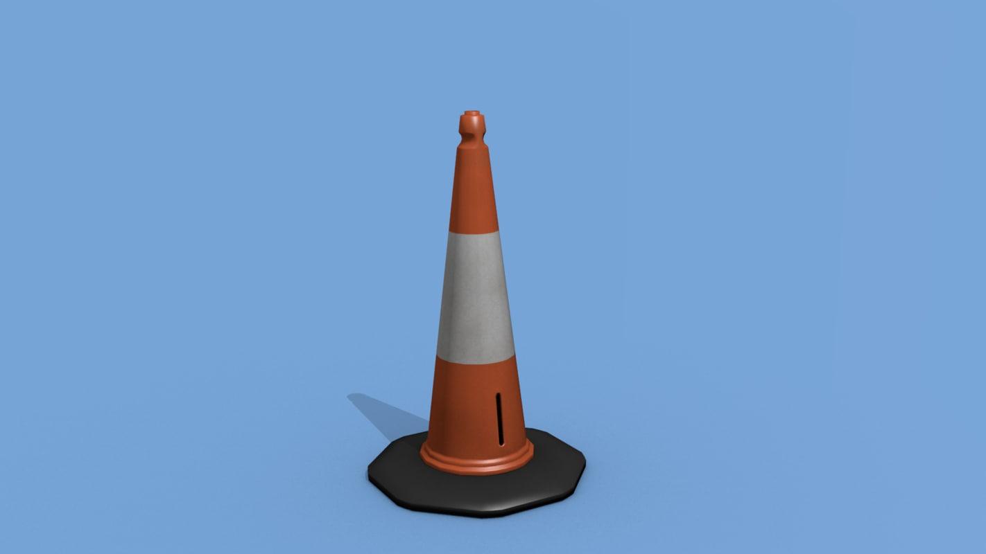 blend uk traffic cone