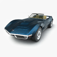 maya chevrolet corvette convertible 1970