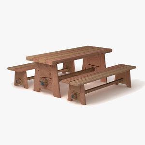 3d - xi century table model