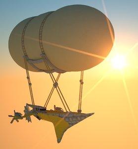 3d airship engines