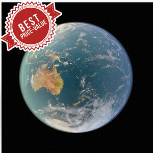 earth sphere 3d max