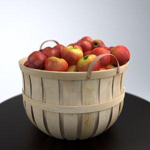 basket apples max