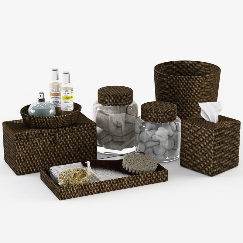 Model Pottery Barn Tava Bath