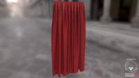 3ds max gen curtain