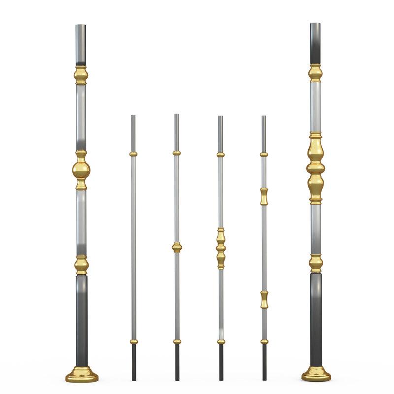 grande forge harmonie 3d model