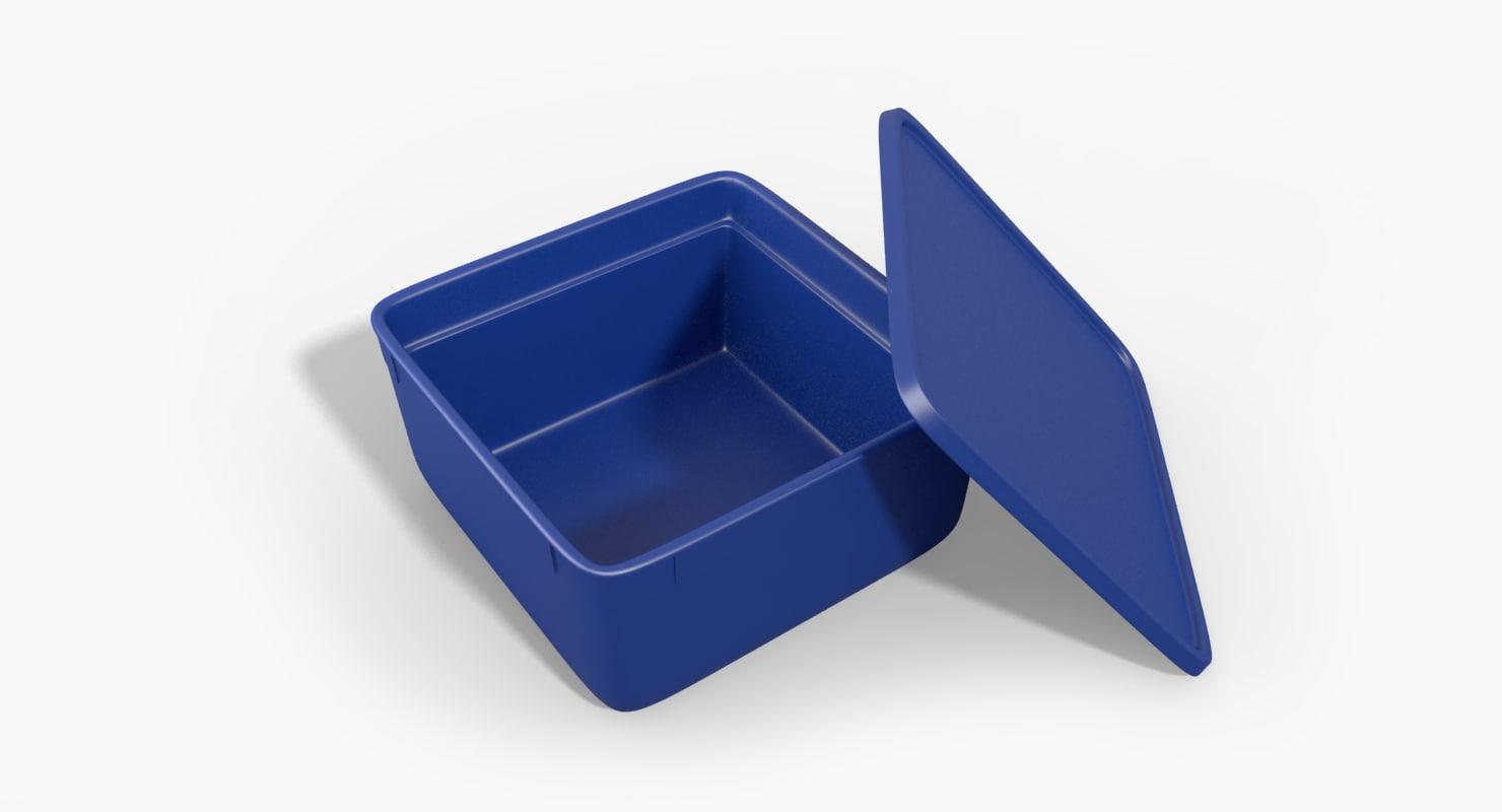 3d model tub icecream