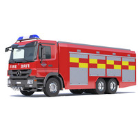 Mercedes Actros Fire Truck