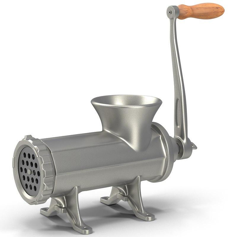 meat grinder 3d max