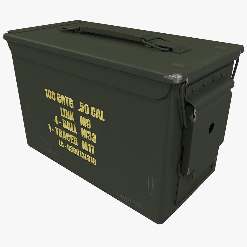 max metal ammunition case