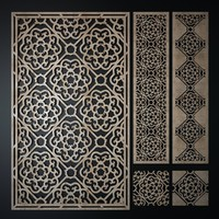 Laser cutting (Pattern 1)