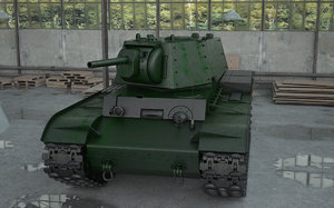 kv-1 3d 3ds