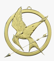 3d model of mockingjay normal bird