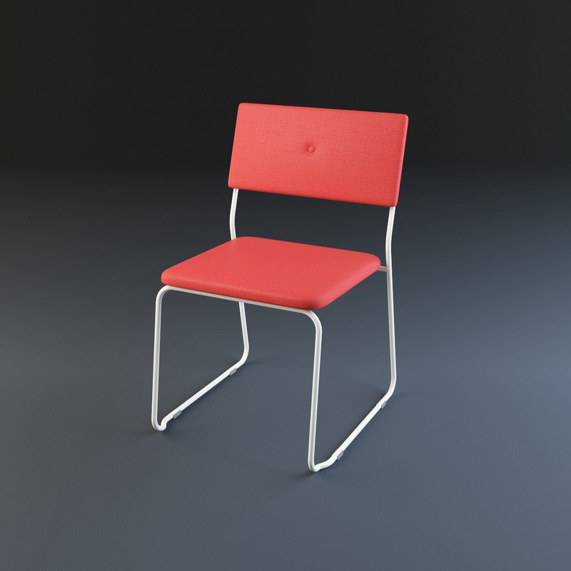 3d bauhaus chair model
