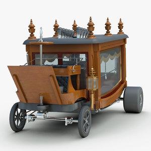 custom boothill express rod 3d model