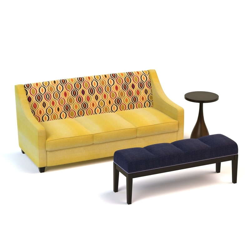 obj lidia sofa fame bench