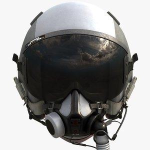 3ds max flight helmet