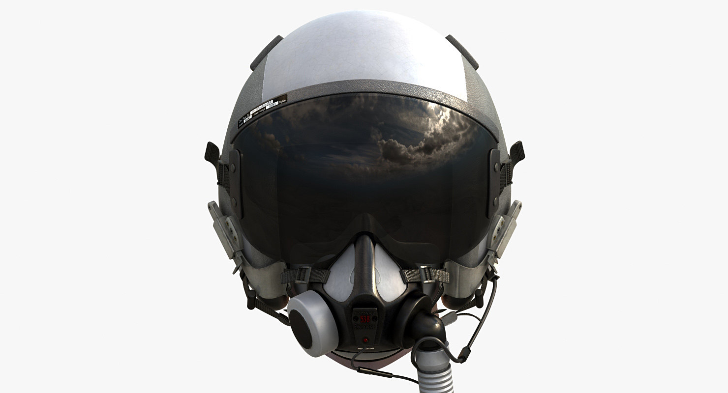 3ds max flight helmet