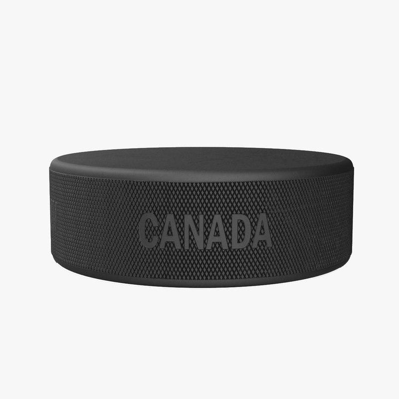 3ds hockey puck