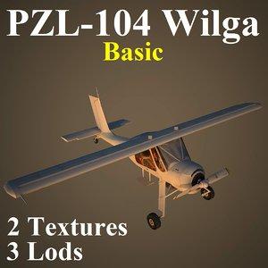wilga basic 3d model