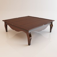 Square shaped table