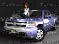 Chevrolet Silverado ExtCab (GMT900)