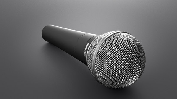 microphone shure obj free