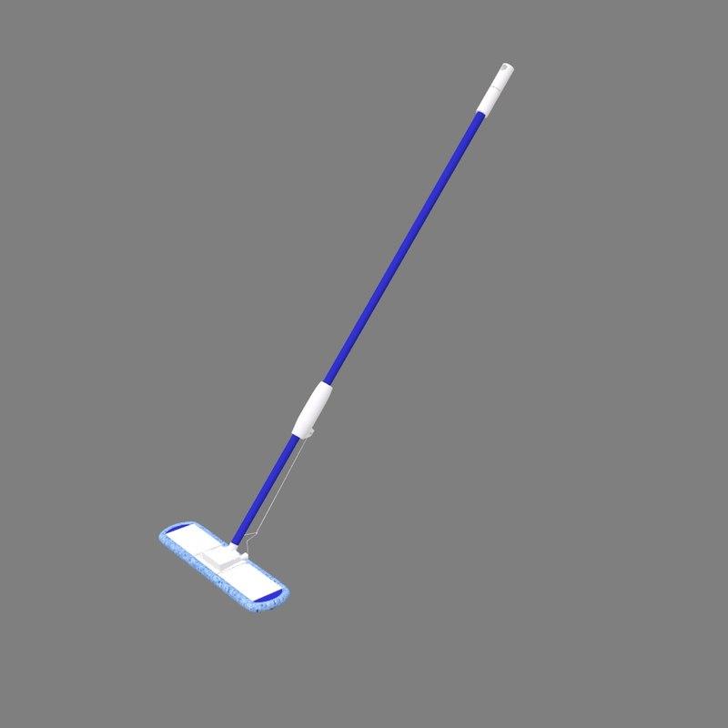 3d sponge mop model
