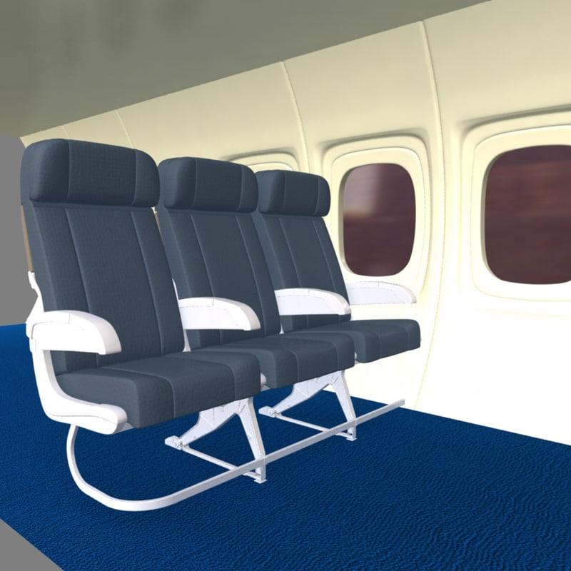 ma airplane interior cabin