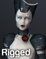 3d model attendance robot